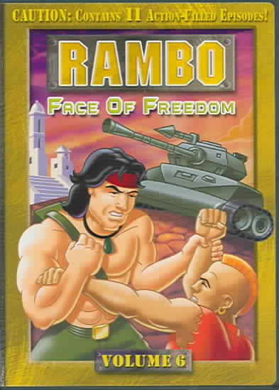 RAMBO VOL 6:FACE OF FREEDOM (DVD)